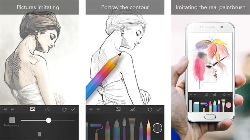 Приложения для телефона как рисовать