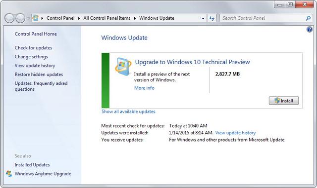 Скачать программы обновление для windows 7