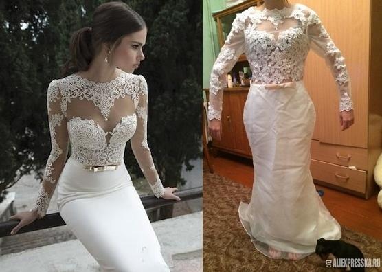 Свадебное платье из вьетнама