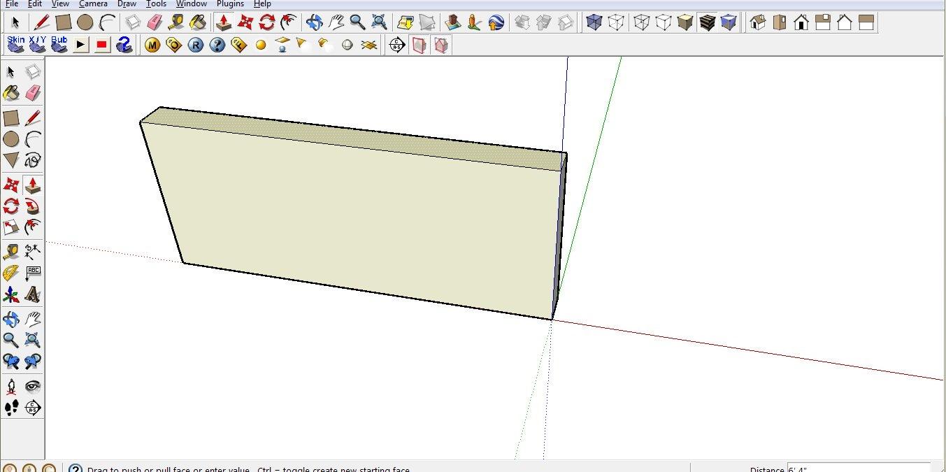Sketchup — программа для 3D-моделирования дома