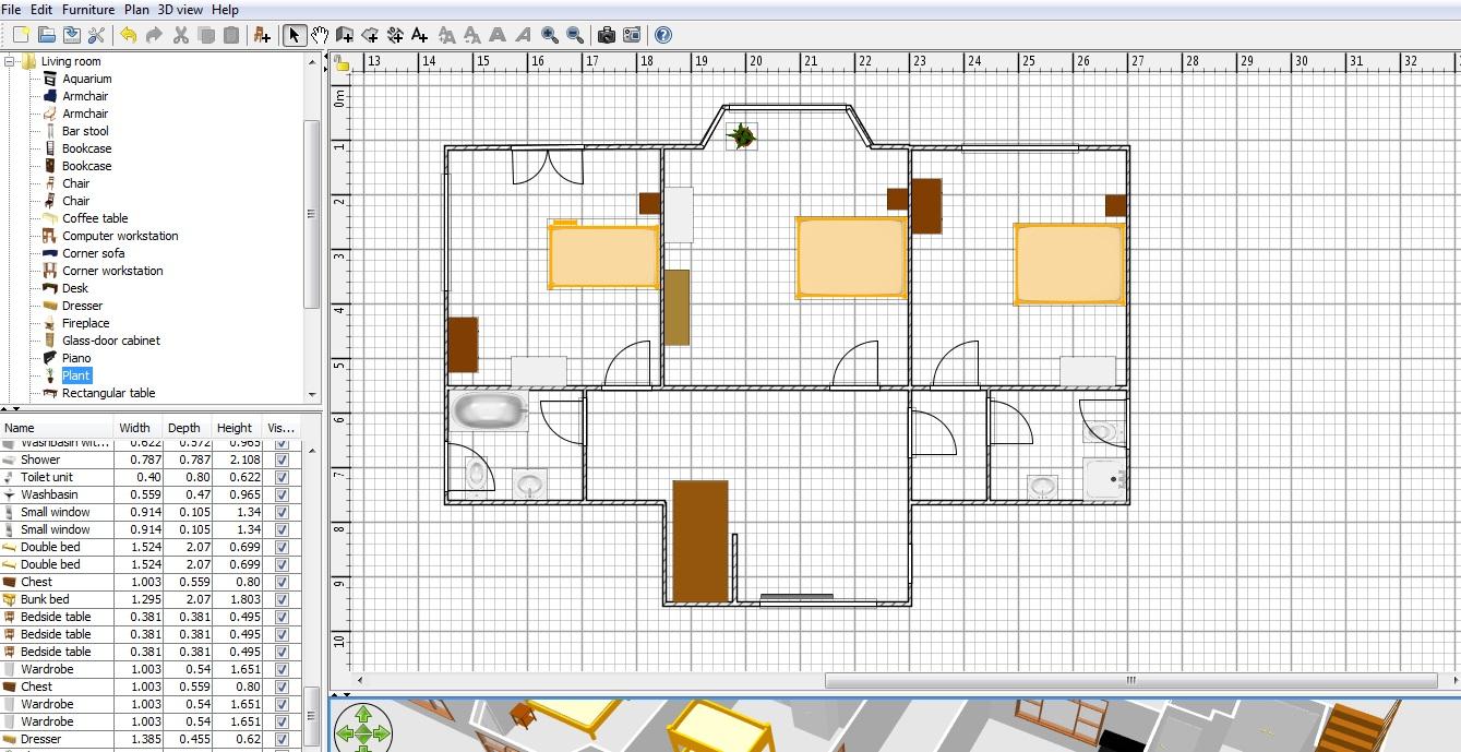 Как сделать крышу для sweet home 3d