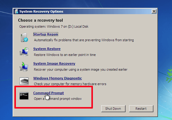 command-promt-system-recovery-options
