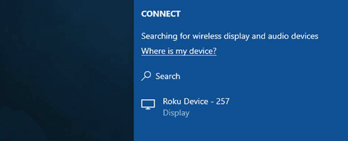connect-roku-windows10