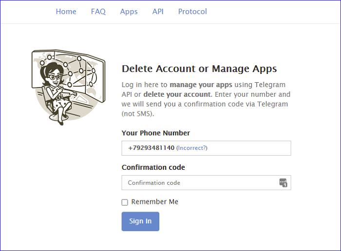 delete-account-or-manage-apps-telegram