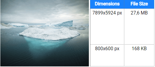 dimensions-file-size