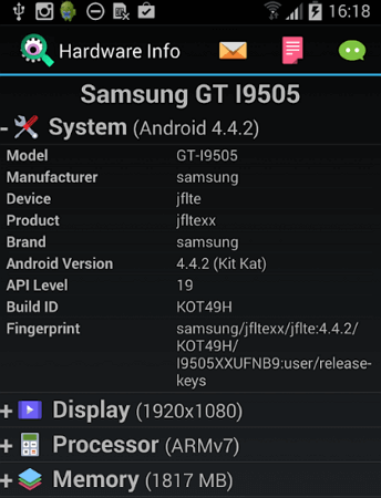 hardware-info-android