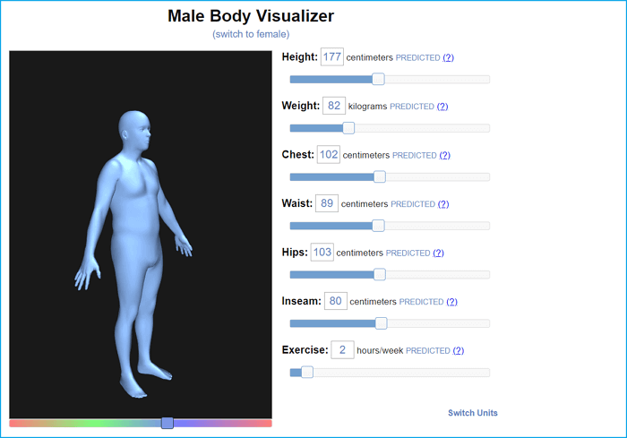 male-body-visualizer