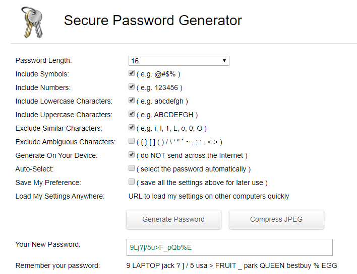 secure-password-generator
