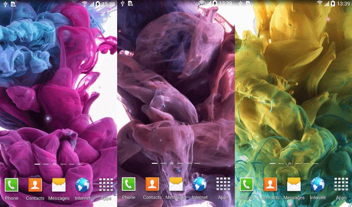красивые картинки с цветами для фона движущиеся