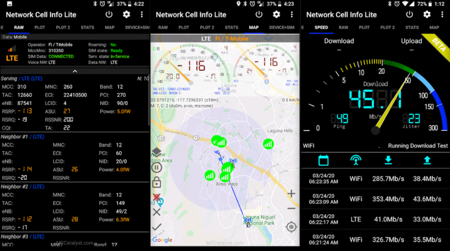 network-cell-info